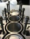 Motor Block Engine Royalty Free Stock Photo