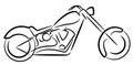 Motor cycle logo