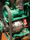 Motor engine Royalty Free Stock Photo