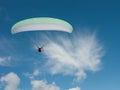 Motor parachute Royalty Free Stock Photo