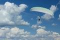 Motor parachute 3 Royalty Free Stock Photo