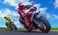 Motor-race