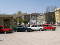 Motor rally vaz lviv ukraine apr Stock Image