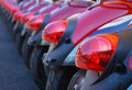 Motor scooters Royalty Free Stock Photo