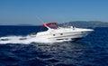 Motor speed boat Royalty Free Stock Photo