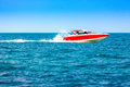 Motor speed boat Royalty Free Stock Photo