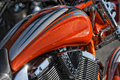 Motorbike detail Royalty Free Stock Photo