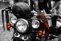 Motorbike Harley detail Royalty Free Stock Photo