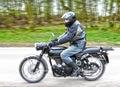 Motorbike With Rider
