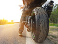 Motorbike Royalty Free Stock Photo