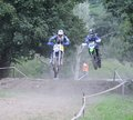 Motorcross in el berron asturias spain july first test of july test for championship of Royalty Free Stock Photos
