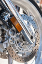 Motorcycle brake Royalty Free Stock Photos