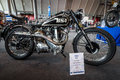 Motorcycle BSA B33, 1950.