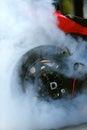 Motorcycle burnout