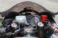 Motorcycle Contols Royalty Free Stock Photo