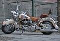 Motorcycle cruiser Royalty Free Stock Photo