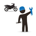 Motorcycle design. transportation icon. isolated illustration