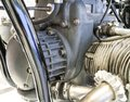 Motorcycle engine - detail of a mechanic Royalty Free Stock Photo