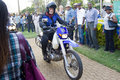 Motorcycle Entry Africa Concours d'Elegance Royalty Free Stock Images