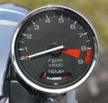 Motorcycle Gauge Royalty Free Stock Photos
