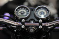 Dashboard motorcycle Royalty Free Stock Photo