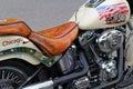 Motorcycle Harley Davidson Fat Boy Royalty Free Stock Photo