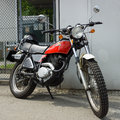 Motorcycle Honda XL250 Enduro Royalty Free Stock Photo