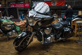 Motorcycle indian chieftain berlin may present th berlin brandenburg oldtimer day Royalty Free Stock Image