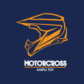 Motorcycle logo illustration