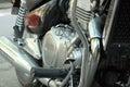 Motorcycle machine Royalty Free Stock Photo