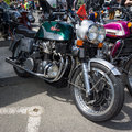 Motorcycle munch mammoth tts berlin germany may th oldtimer day berlin brandenburg Stock Images