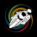 Motorcycle Racing graphic