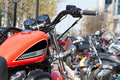 Motorcycle rally Royalty Free Stock Photo