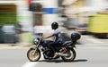 Motocykel jazdec