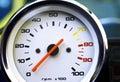 Motorcycle rpm gauge Royalty Free Stock Photo