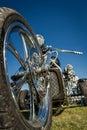 Motorcycle trike Royalty Free Stock Photo