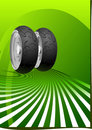 Motorcycle Tyre Stock Photos