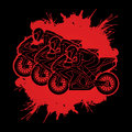 3 Motorcycles Racing graphic