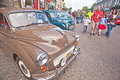 Motormania in grantown-op-Spey Stock Afbeelding