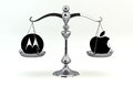 Motorola Mobility versus Apple Stock Images