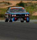 Motorsport BMW CSI 3.0 Stock Photography