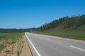 Motorway in Buryatia.