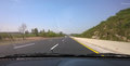 The motorway pakistan this is m extending from lahore to peshawar Royalty Free Stock Photography