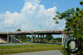 Motorway to vinales cuba or viñales brigde in the only strong survive Stock Photo