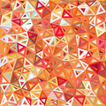 Mottled abstract triangles vector background this is file of eps format Stock Photo