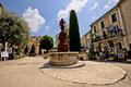 Mougins village, French riviera. Royalty Free Stock Images