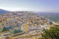 Moulay Idriss is the most holy town in Morocco. Royalty Free Stock Photo