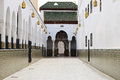 Moulay Idriss Zerhoun mausoleum near Meknes, Morocco Royalty Free Stock Photo