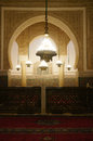 Moulay ismail mausoleum interior at meknes in morocco Stock Images