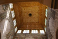 Moulay ismail mausoleum interior at meknes morocco in Royalty Free Stock Photography